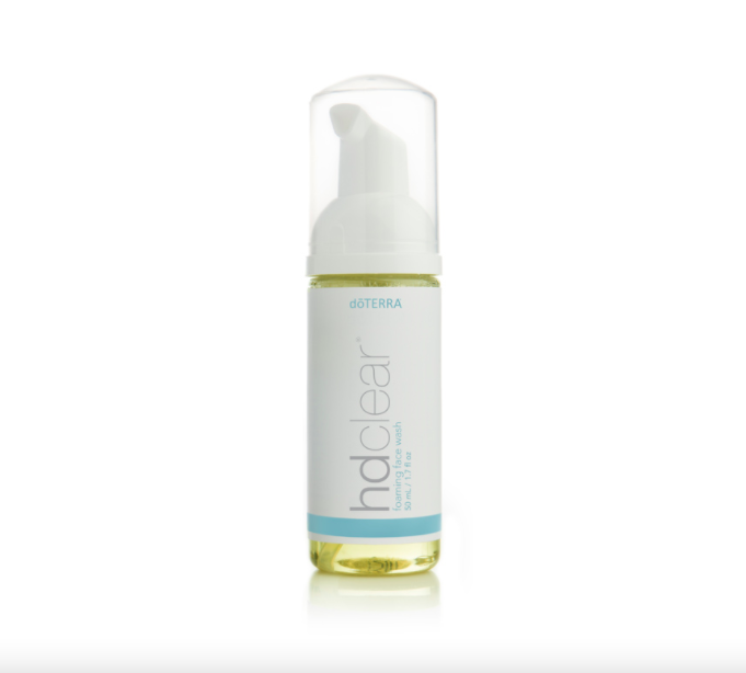 HDclear Foaming Face Wash